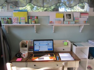 picture of Gwen Hayes' Workspace